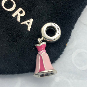 PANDORA Disney Aurora Dress Dangle Charm